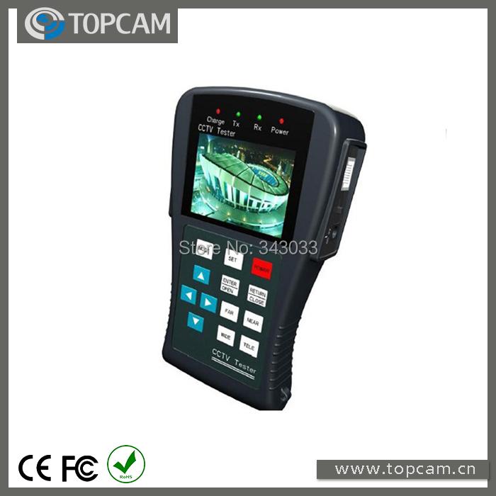 CCTV Tester LCD Monitor CCTV Camera Video PTZ 12V RS485 UTP Tester Meter CCTV Security system(China (Mainland))