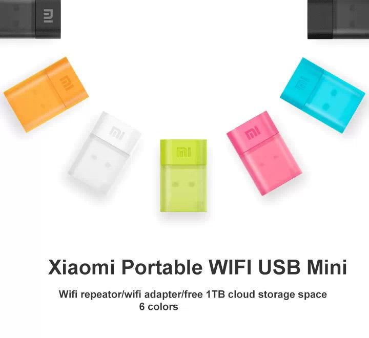 Original Xiaomi WiFi Portable Mini USB wireless Router/repeator WiFi USB adapter with 1TB free cloud storage(China (Mainland))