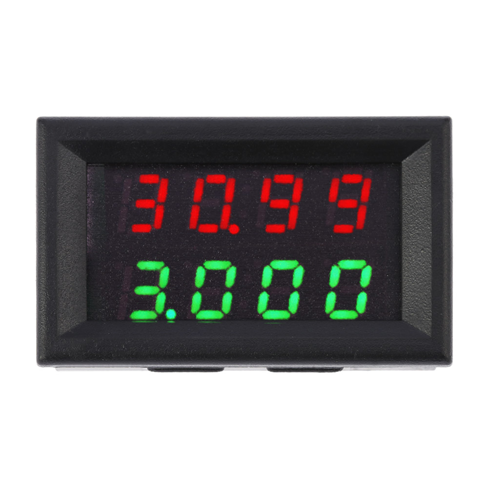 High Voltage Detector With Display : High precision digital led dual display dc voltage current