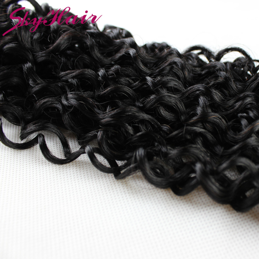 Peruvian virgin hair kinky curly human braiding hair bulk no weft 1pc/lot peruvian kinky curly 100 bulk human hair wholesale