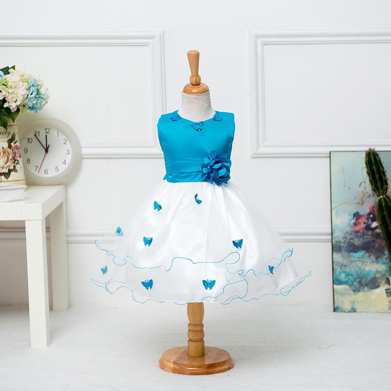 EBay explosion princess dress girl children dress show princess  Butterfly Dress