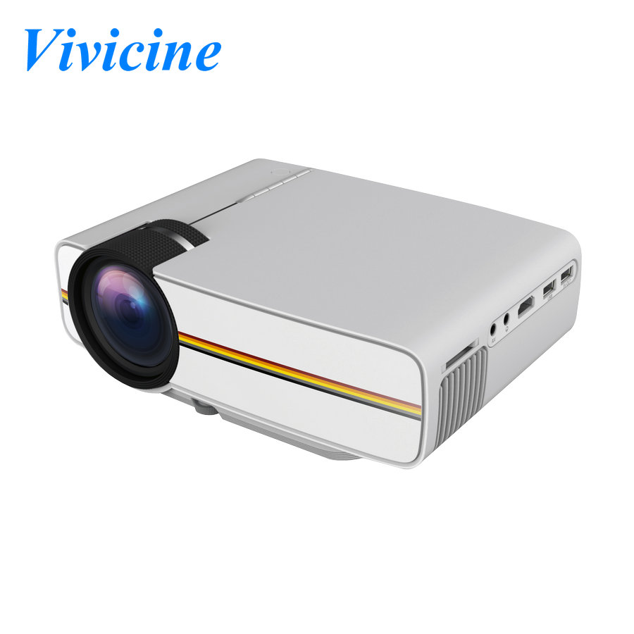 Vivicine YG400 Mini LED Projector 1200 Lumens HDMI USB Video Portable Home Theater Cinema Multimedia Video Game Proyector Beamer(China (Mainland))