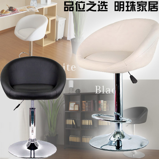 Small stylish bar chairs around the chair home simple small sofa lift turn leisure Specials(China (Mainland))
