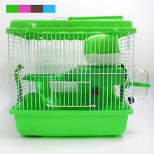 Новые Горячие Продажи высококачественного пластика разноцветные замок повышение животное хомяк клетка Grand Castle бесплатная доставка
