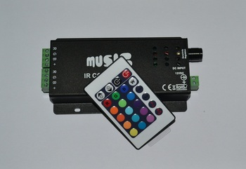 24Key Infrared Music LED Controller