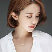925 Sterling Silver Cube Pendants&Necklaces Pure Sterling Silver 925 Necklace Jewelry Collar Colar de Plata(China (Mainland))