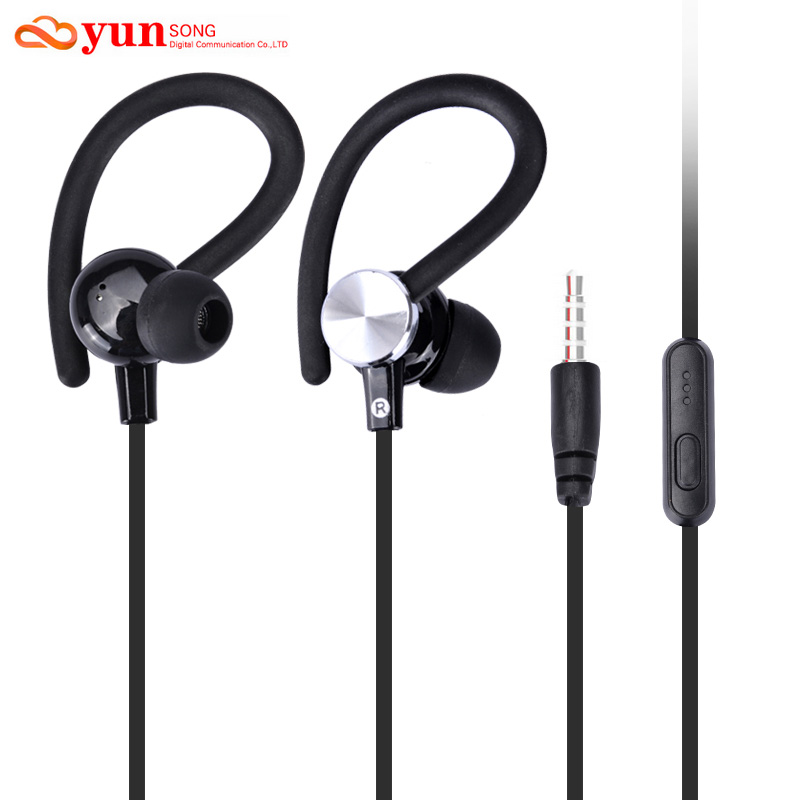 Original Stereo Bass earphone In-Ear Headphones 3.5mm handsfree Sport Headset With Mic for All Mobile Phone MP3 MP4 Player(China (Mainland))