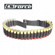 Buy 130*5CM Outdoor Airsoft Hunting Tactical 29 Shotgun Shell Bandolier Belt 12/20 Gauge Ammo Holder Military Bullet Cartridge Belt for $5.50 in AliExpress store