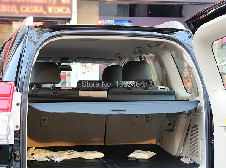Auto rear trunk cargo cover for Toyota Prado 2010-2015 2700/4000 , auto accessories<br><br>Aliexpress
