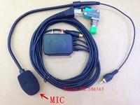hand free microphone for KENWOOD Car/Vechile Mobile Base radios 8pins for TM471,TM481,TM261,TM271,TM281,TK8108,TK868G etc.
