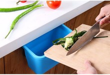 500pcs/lot  High Quality Desktop Door Kitchen Rubbish Garbage Plastic Storage Box Kitchen Accessories(China (Mainland))
