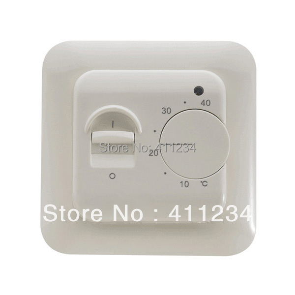 Гаджет  Floor heating thermostat, room thermostat ,temperature controller, manual thermostat None Строительство и Недвижимость