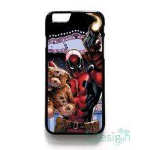 Fit for iPhone 4 4s 5 5s 5c se 6 6s 7 plus ipod touch 4/5/6 back skins cellphone case cover DEADPOOL COMIC