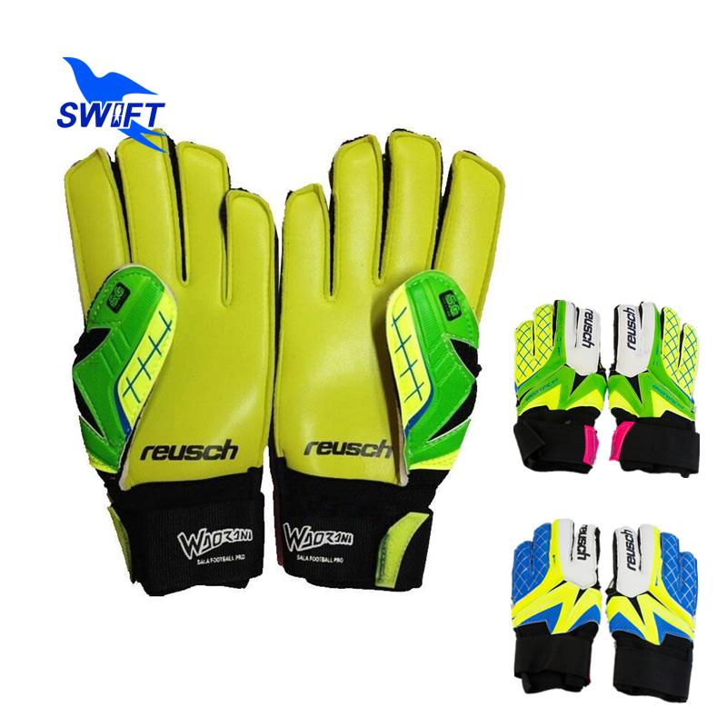 Thicken Latex REUSCH Professional Soccer Goalkeeper Gloves 2015 Mens Football Gloves Guantes De Portero Luva De Goleiro(China (Mainland))