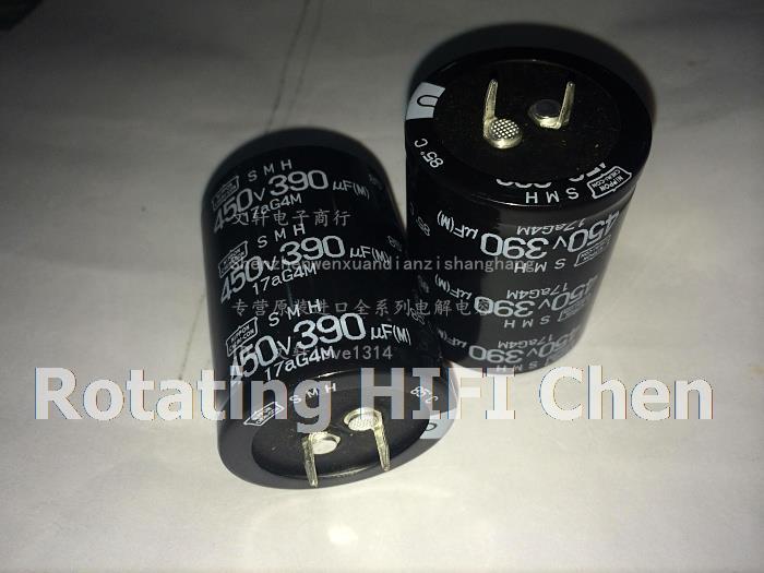 odroid 10PCS CHEMI-CON 450v390uf SMH 35x45MM NIPPON Aluminum Electrolytic Capacitor kit freeshipping new real NCC 390uf 450v(China (Mainland))