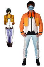 Gundam00 Celestial Being Alleulujah Haptism Gundam Meisters Uniform Anime Cosplay Costume