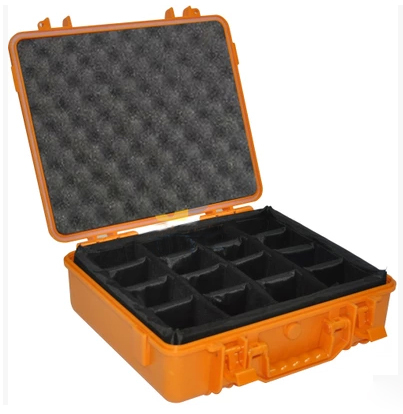 Free shipping Impact resistant sealed waterproof safe case37.5*30.5*12cm security tool equipmenst encosure box with Foma lining<br><br>Aliexpress