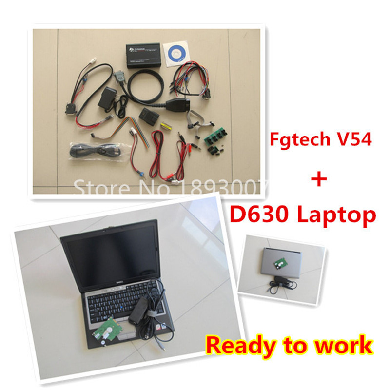 2016 Newest FGTech v54 with D630 2G Laptop ready to work FGTech Galletto 2-Master V54 ECU Programmer Multi-langauges FG Tech V54(China (Mainland))