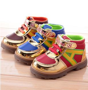 Boys shoes PU leather female children single shoes fashion toddler winter boots girls calzado ninas 2015 chaussure enfant 213b<br><br>Aliexpress