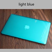 Хрустальный чехол для apple MacBook New Air 13 A1932 Pro retina 11 12 13 15 для New Pro 13 15 дюймов с сенсорной панелью + крышка клавиатуры(China)