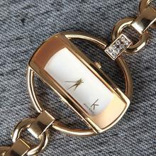 Caliente Rhinestone vestido reloj de mujer moda para mujer reloj de cuarzo relojes de lujo a estrenar de acero lleno de ginebra nuevo