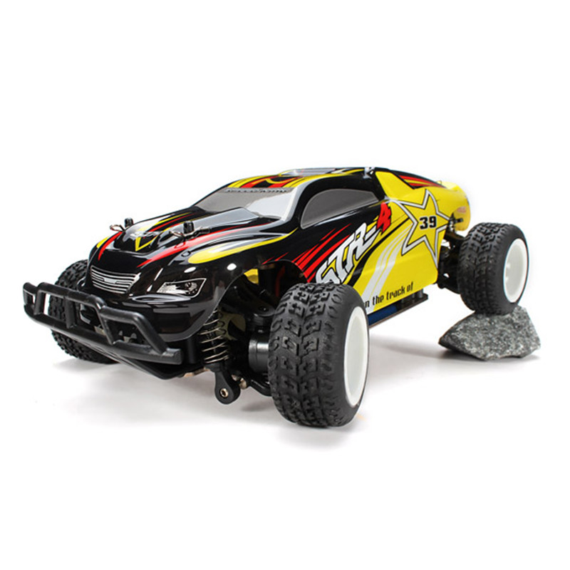 Wltoys A222 1/24 2.4G 4WD Brushed RC Racing Automotive RTR Excessive Pace Distant Management Automobiles With Transmitter