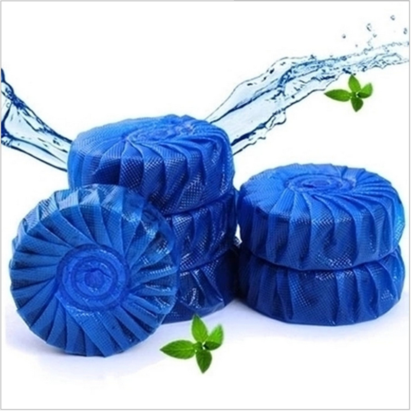 10Pcs/Sot Households Magic Automatic Flush Toilet Cleaner Fragrant Ball Blue Bubble Clean Toilet Deodorant Toilet Cleaner(China (Mainland))