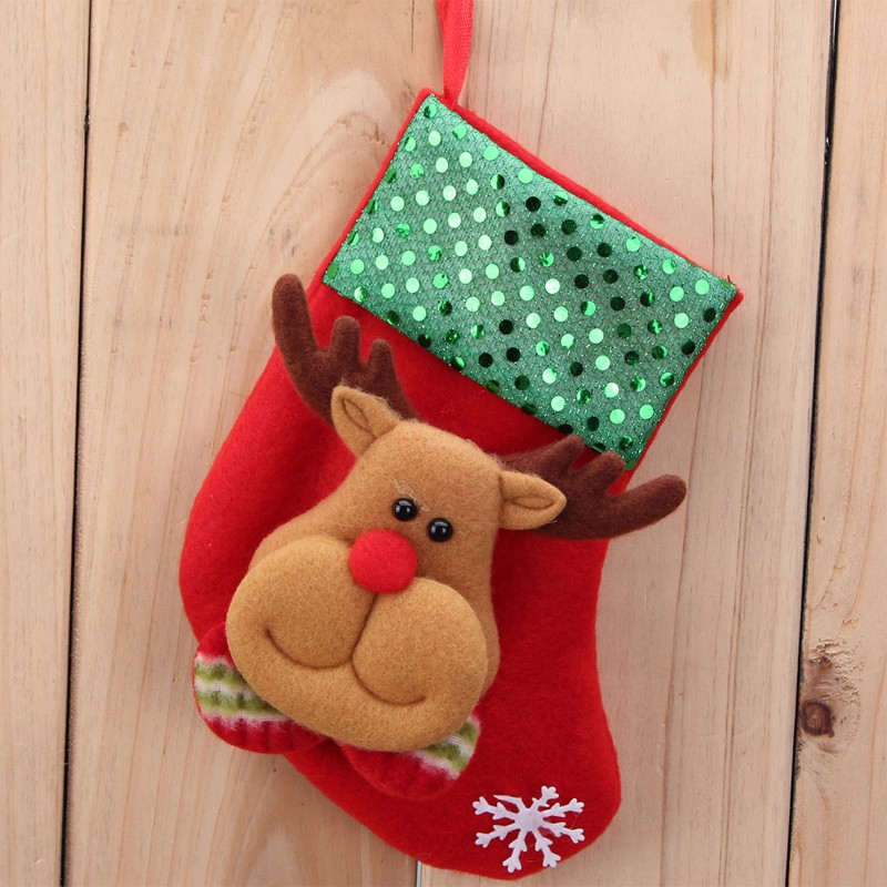 Top Sale 2016 Hot Sale Christmas Stocking Sequins Socks