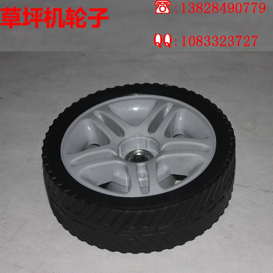 Lawn mower grass cutting machine before and after the wheels mower wheels lawn mower garden machinery(China (Mainland))