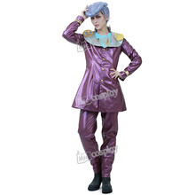 Bizarre Adventure Anime JoJo 4 Josuke Higashikata Cosplay Costume Halloween Party hommes vêtements