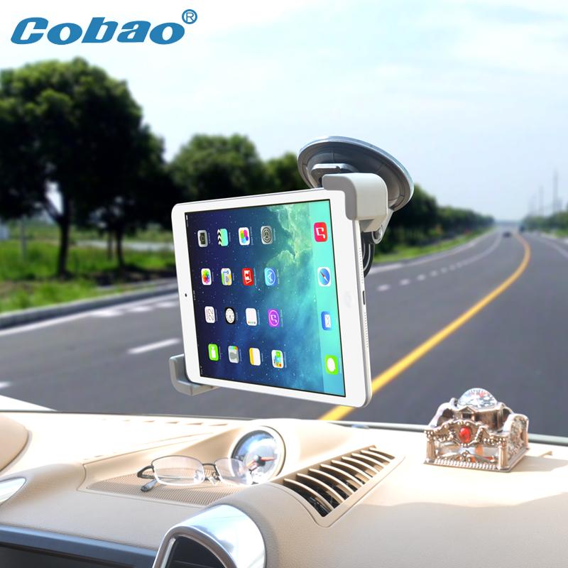 New 7 8 9 10 inch Tablet Car Holder Universal soporte tablet desktop Windshield Car mount cradle For iPad Samsung Tab Stand(China (Mainland))