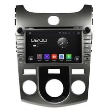 HD 1024*600 Quad Core 16GB Android 5.1.1 Car DVD Player Radio GPS Navi Stereo for KIA CERATO FORTE (MT) 2008 2009 2010 2011 2012