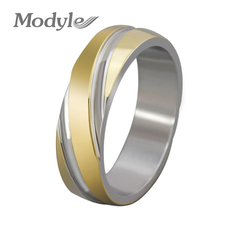 2016 new fashion stainless steel wedding brand engagement