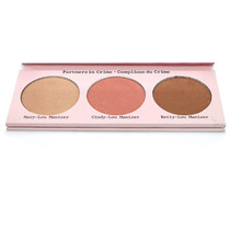 Hot TB Balm Makeup Cosmetic The Manizer Sisters 3 Colors Face Pressed Powder Mary/Betty/Cindy Lou Shimmer Powder Palette GI5060(China (Mainland))