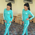 New Autumn 2016 Jogging Suits For Women tracksuits women sport suits set ladies brand running sets