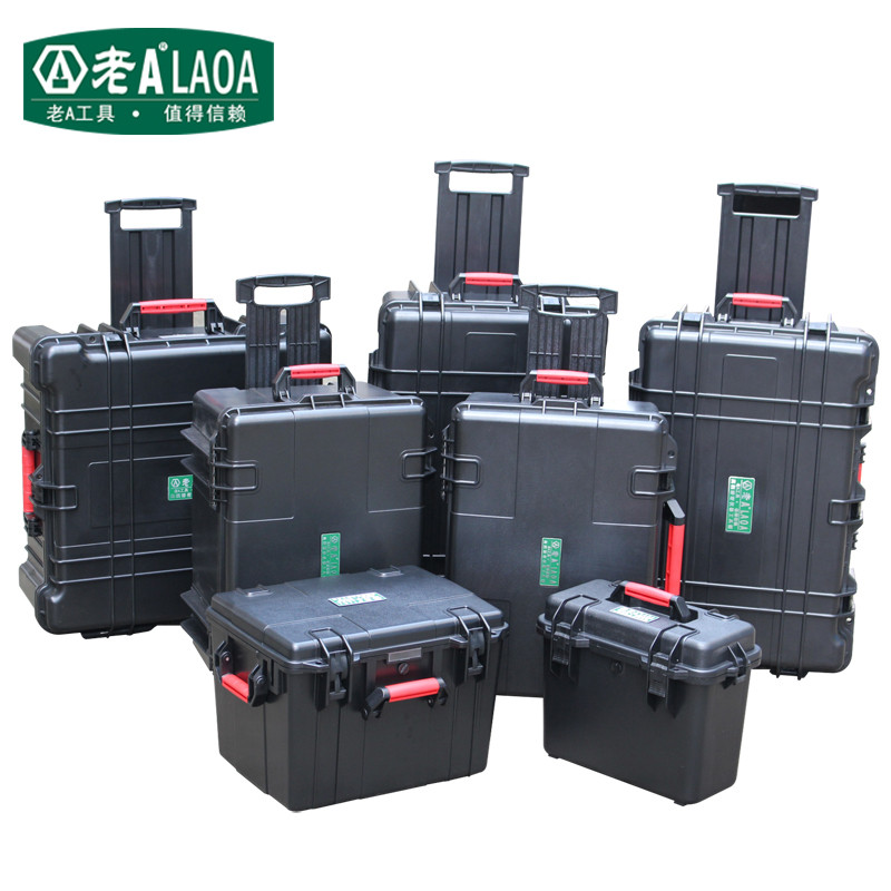 LAOA 15 Inch Thicken Safety Box Water-proof Box Instrument And Equip Instore Instrument too  Box With Draw-Bar<br><br>Aliexpress