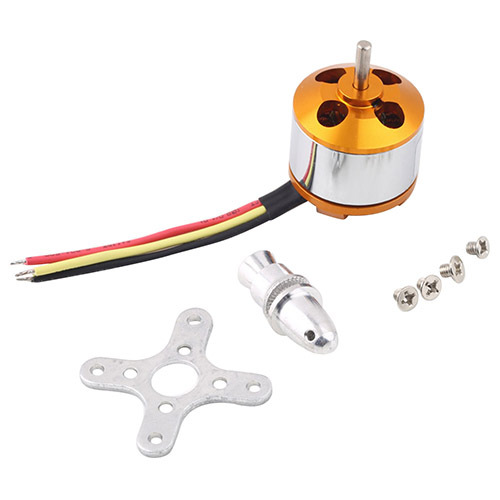 2015 Hot A2212 Kv1400 Brushless Electric Motor For Rc