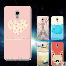 High Quality Colored Drawing TPU Gel Soft Painted Case Cover For Huawei Y5(China (Mainland))