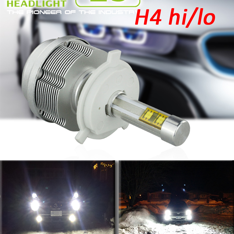 30W H4 9003 HB2 3600lm LED Headlight Kit Hi/Lo dual beam Head lamp bulb 12V 24V 6000k White Head bulbs<br><br>Aliexpress