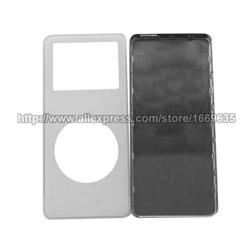 White Front Faceplate + Back Housing Case Cover Fix Parts for iPod Nano 1st Gen(China (Mainland))