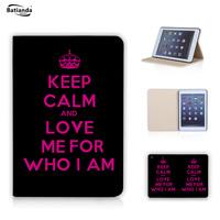 For Ipad Mini 1 2 3 Soft PU Leather Case Ultra Slim Magnetic Sleep /Wake UP Flip Cover For Apple Ipad Mini Keep Calm And Love Me