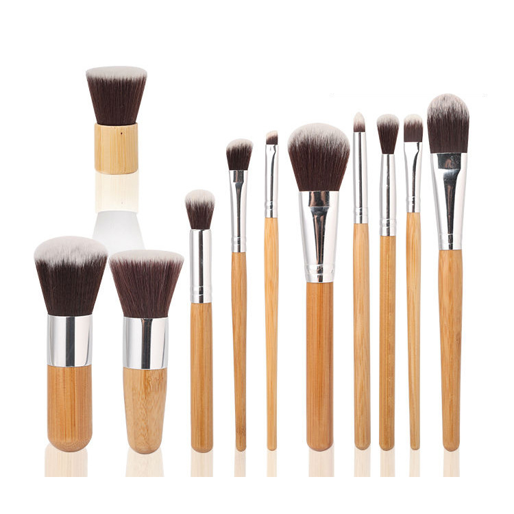 Makeup Brushes 11 Pcs Superior Professional Soft Cosmetics Make Up Brush Set Woman's Kabuki Brushes kit Makeup Brushes Maquiagem(China (Mainland))