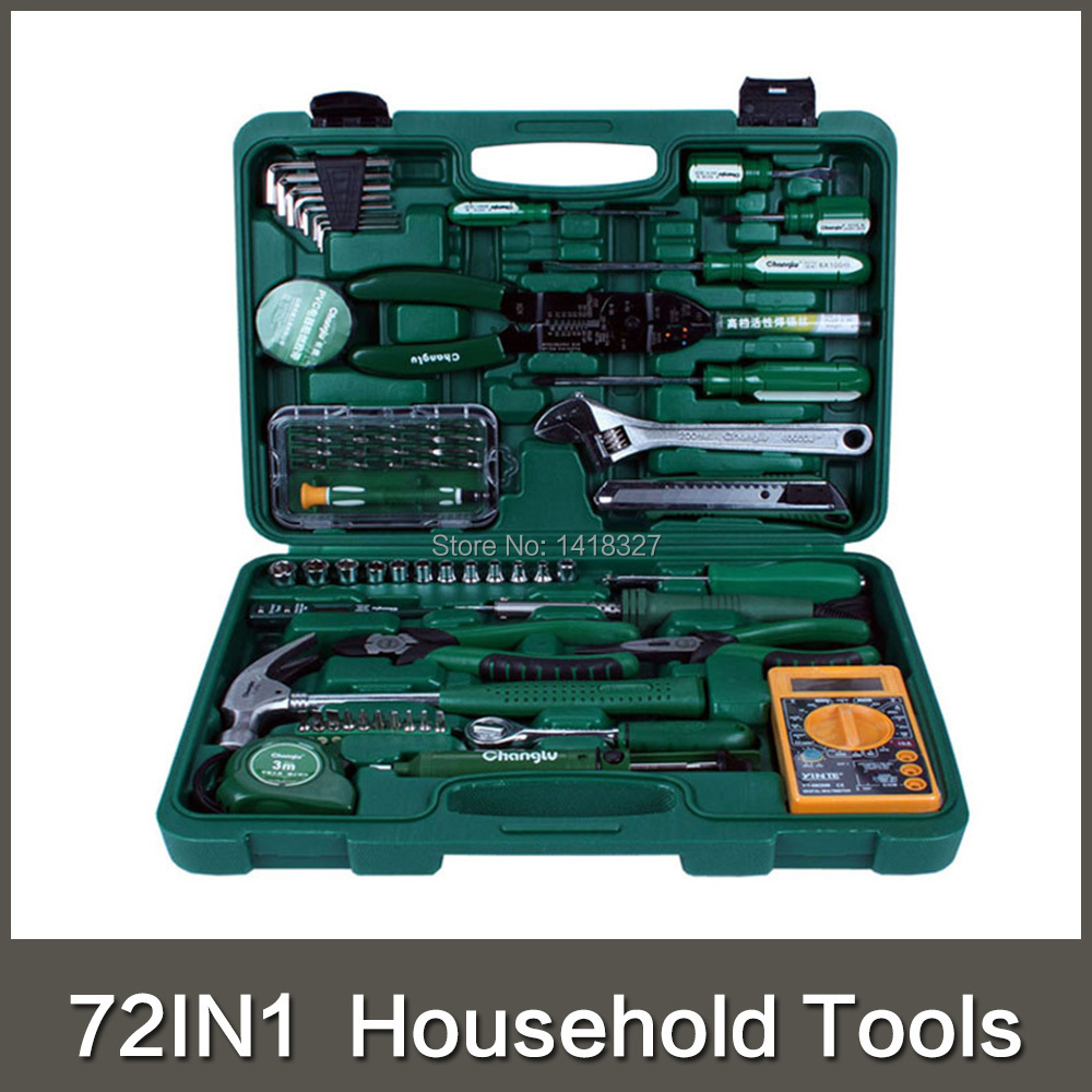 2015 Sale Hand Tools 72 In 1 Telecommunications Repair Household Tool Set Ferramentas Knife Plier Screwdriver Wrenches Ratchent(China (Mainland))