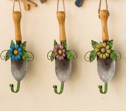 Simple Life Creative organizer home decor hanging vintage coat hook wall hooks wall hanger bathroom accessories 3 pieces/set(China (Mainland))