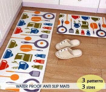 Современный замши коврик синий белый ковры и ковры водонепроницаемый спальня / / ванной коврик 40 * 60 / 50 * 80 / 45 * 120 см бесплатная доставка