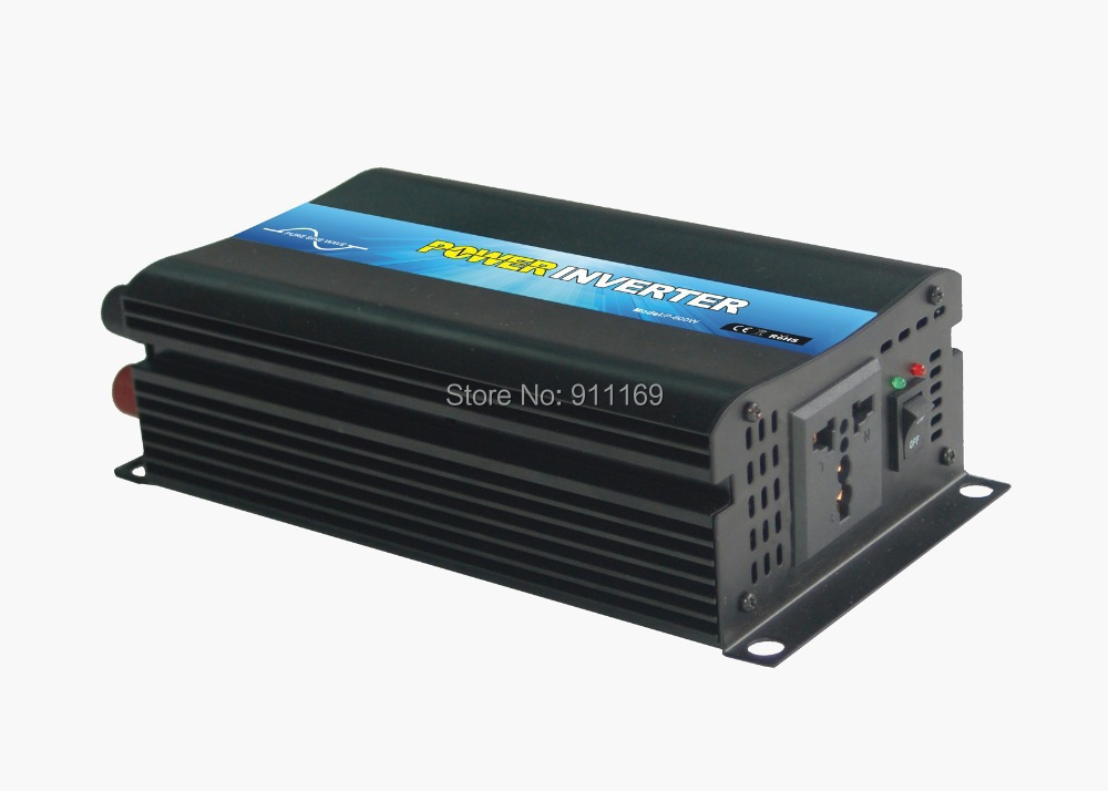 CE&SGS&RoHS Approved DC12V To AC220V 600W Off-Grid Solar Panel Invertor /Inverter& five star service(China (Mainland))