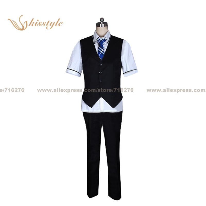 Kisstyle Fashion The Fruit of Grisaia Yuji Kazami Uniform Cosplay Clothing Cos Costume,Customized Accepted