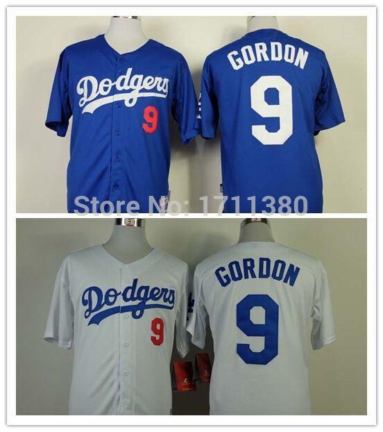 9 Dee Gordon jersey Stitched Los Angeles Dodgers wholesale ...