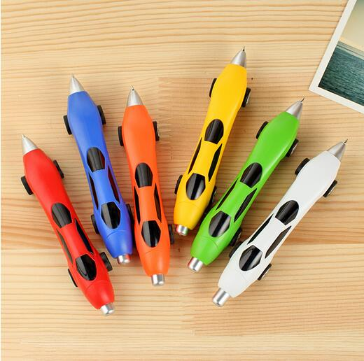 [because] cute creative stationery car pen custom logo printing advertisement stationery own design 200pcs/lot(China (Mainland))