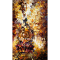 hand painted Modern Artwork of Landscape Train Of Happiness Palette knife thick Art canvas Oil Painting